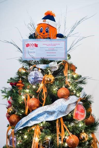 University College Christmas tree