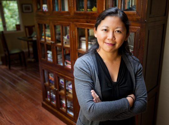 Yiyun Li (photo by Don Feria/Getty Images for The MacArthur Foundation Awards)