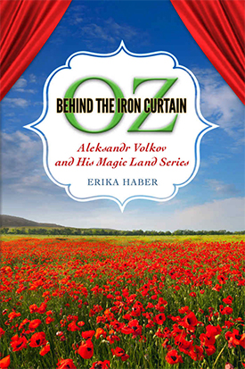 cover of Erika Haber's book, with title and field of poppies illustrating it