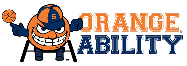 OrangeAbility logo with Otto holding a basketball