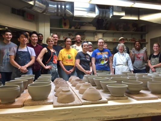 Members of the Shaped Clay Society
