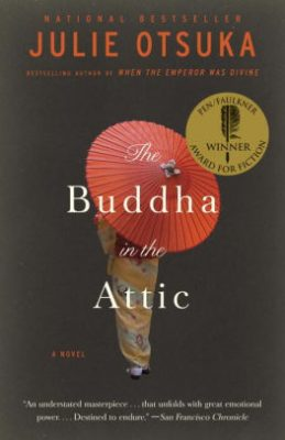 "Cover of ""The Buddha in the Attic"""