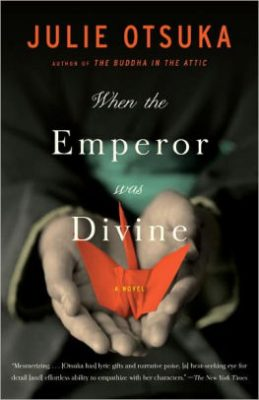 "Book cover of ""When the Emperor Was Divine"""