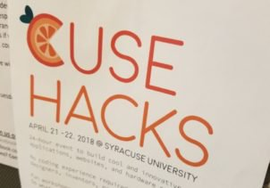 A poster for Cuse Hacks
