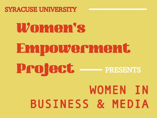 Women's Empowerment Project--women in business and media