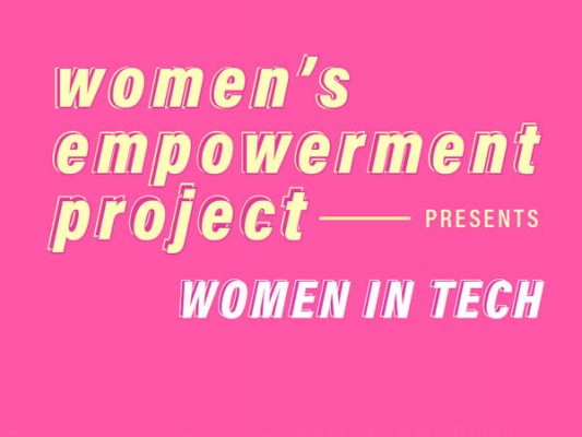 women's empowerment project--women in tech
