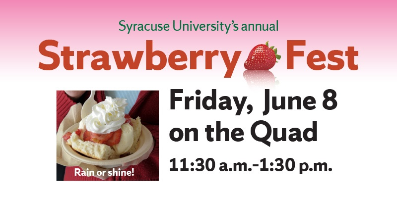 strawberry festival flyer