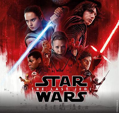 """poster for """"Star Wars: The Last Jedi"""""""