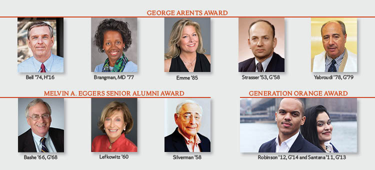alumni award recipients