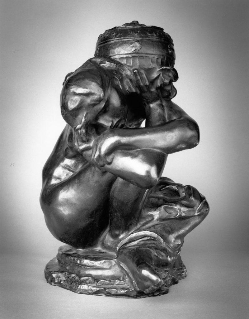 Auguste Rodin, Fallen Caryatid with Urn, 1883_cast 1982
