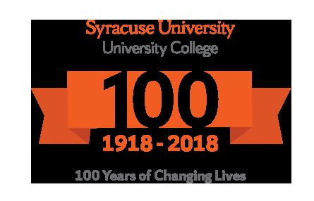 University College anniversary logo