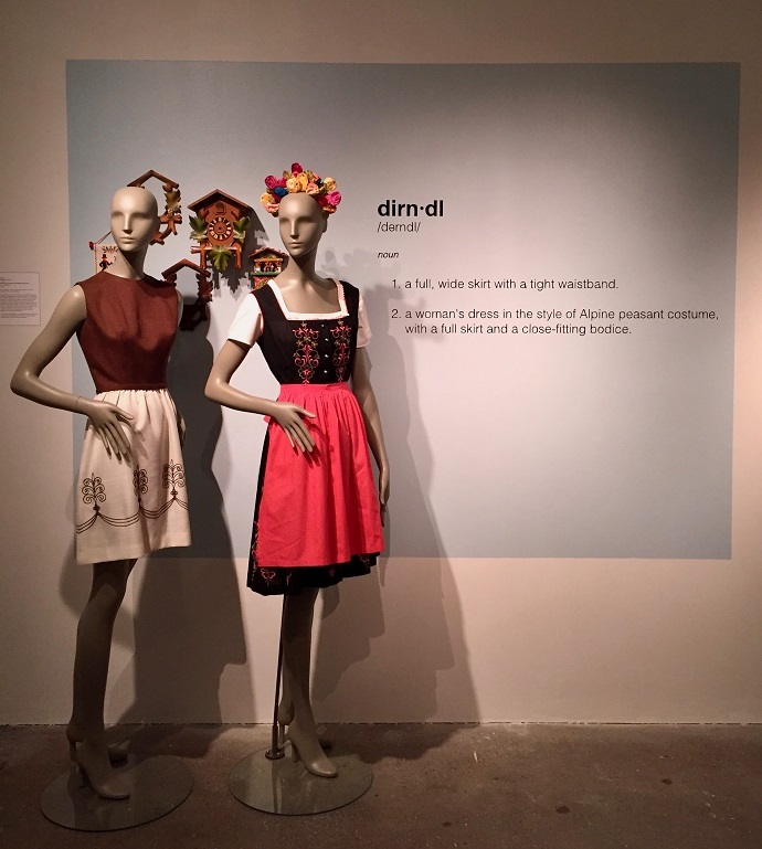 mannequins in an exhibition
