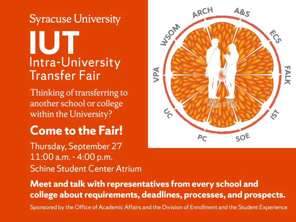 Intra-University Transfer Fair graphic
