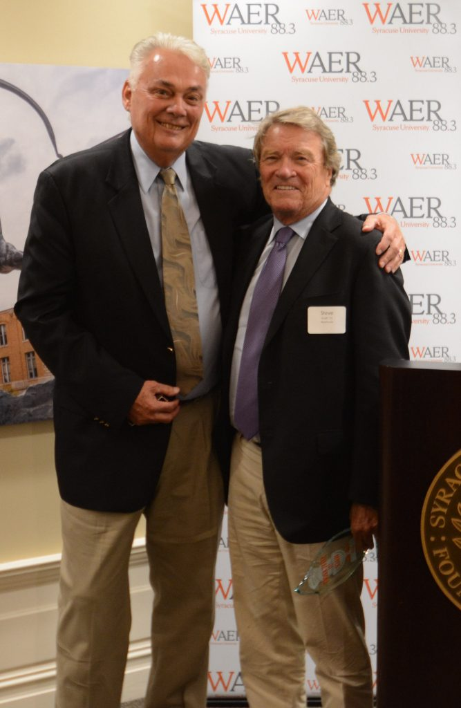 John Nicholson and Steve Kroft