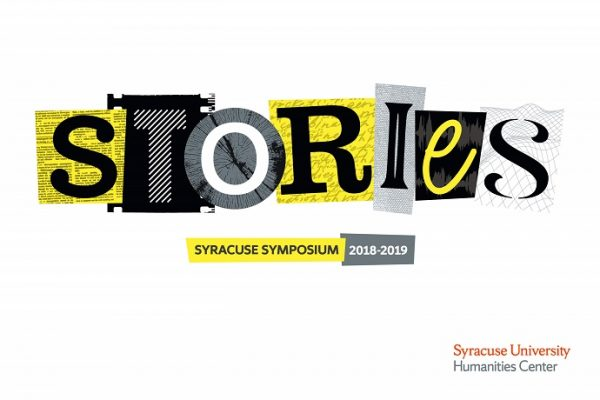 "Syracuse Symposium ""Stories"" graphic"