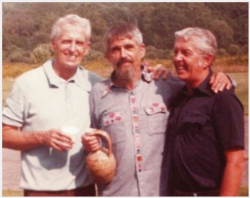 The Berrigan brothers in a family photo.