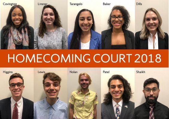 meet the 2018 homecoming court syracuse university news