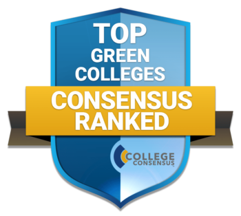 Top Green Colleges badge