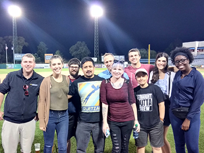 This year's program participants took in a Syracuse Chiefs baseball game at NBT Stadium on June 12.
