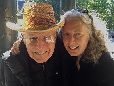 Bob Newman and Katherine Hughes '91, '07