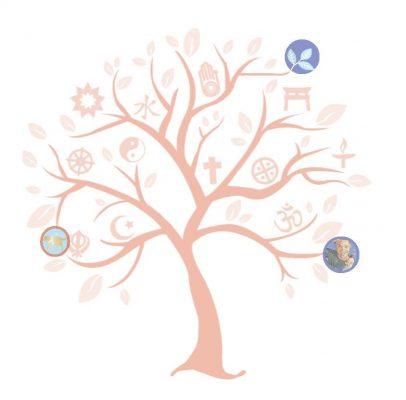 Interfaith Tree graphic