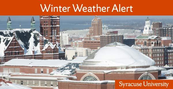 Winter Weather Alert