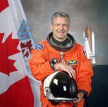 man in astronaut suit