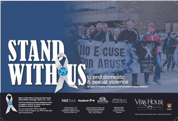 poster showing words Stand with Us
