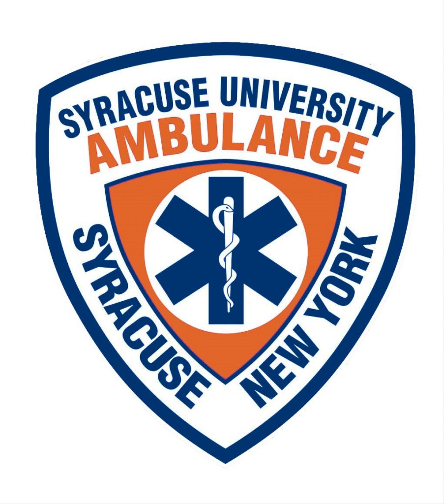 graphic of Syracuse University Ambulance seal
