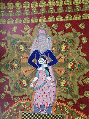 mosaic painting