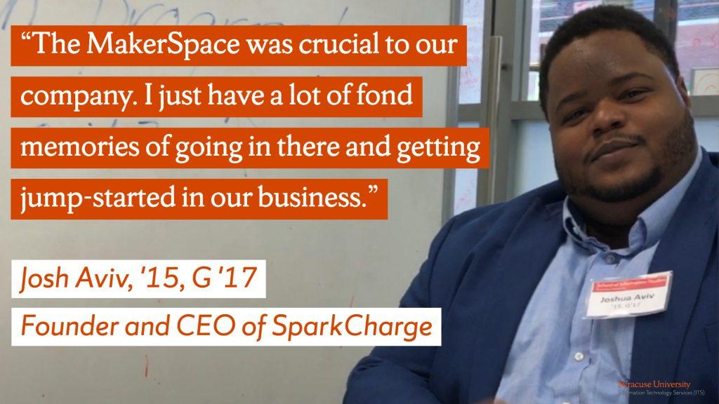 Josh Aviv MakerSpace Quote
