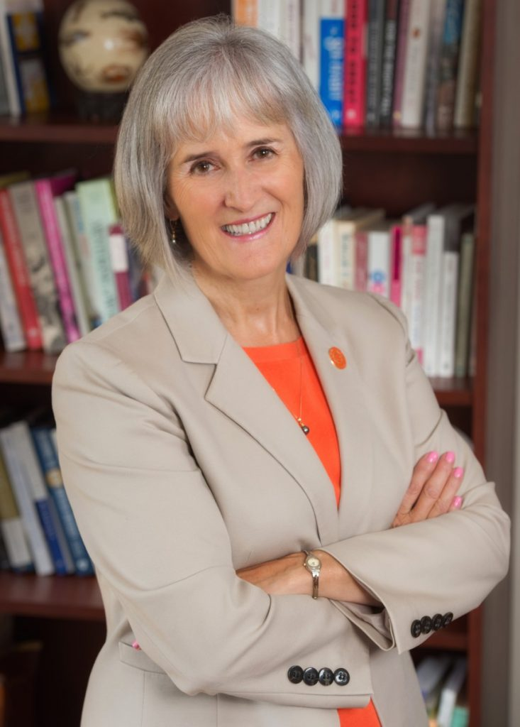 headshot of Provost Michele Wheatly