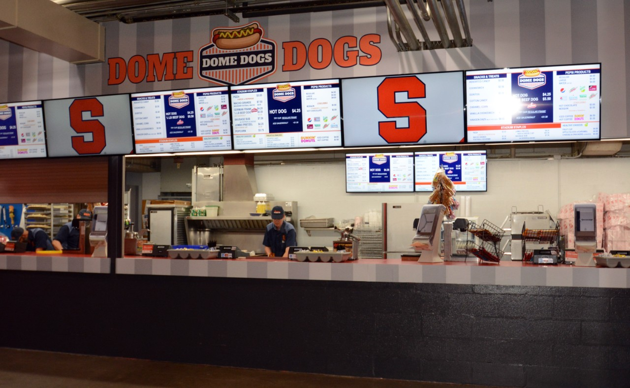 Dome Dogs concession stand