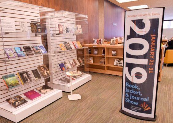 book display at library