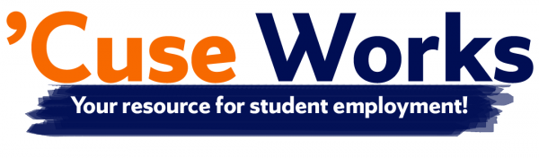 'Cuse Works your resource for student employment