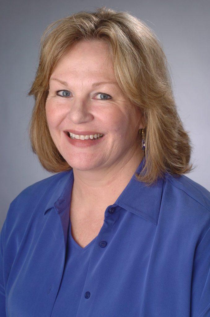 headshot portrait of Sandra Lane