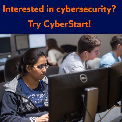 Interested in cybersecurity? Try CyberStart!