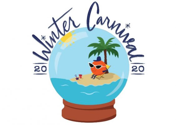 graphic that says Winter Carnival 2020
