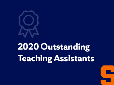 Outstanding teaching assistants graphic