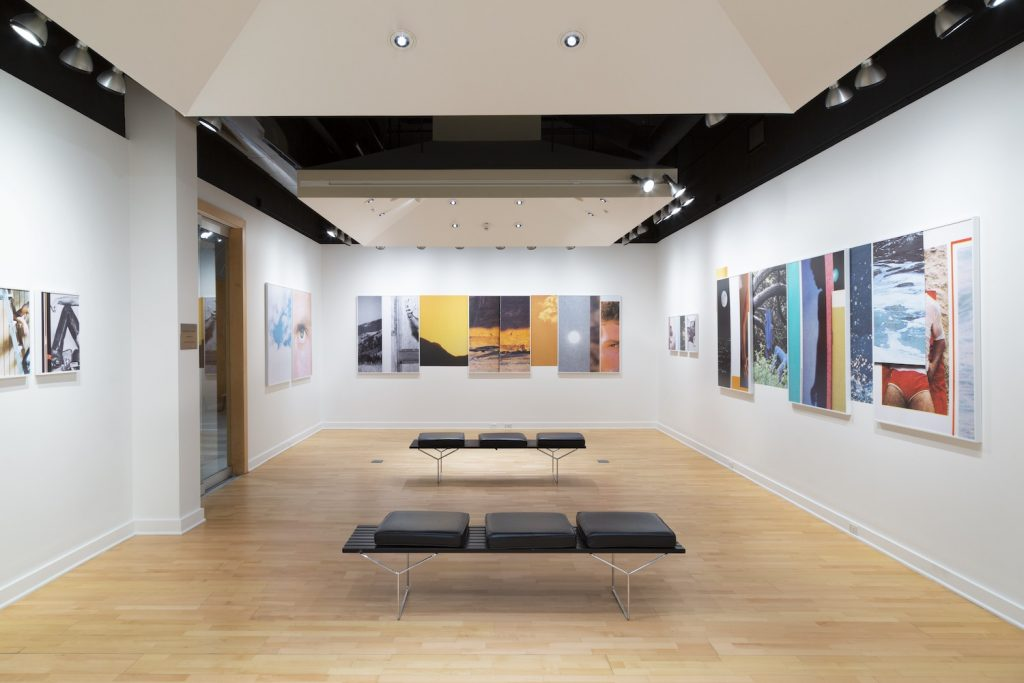 works by Pacifico Silano on gallery walls