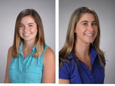 Headshots of Erin Maurno and Alena Anthony