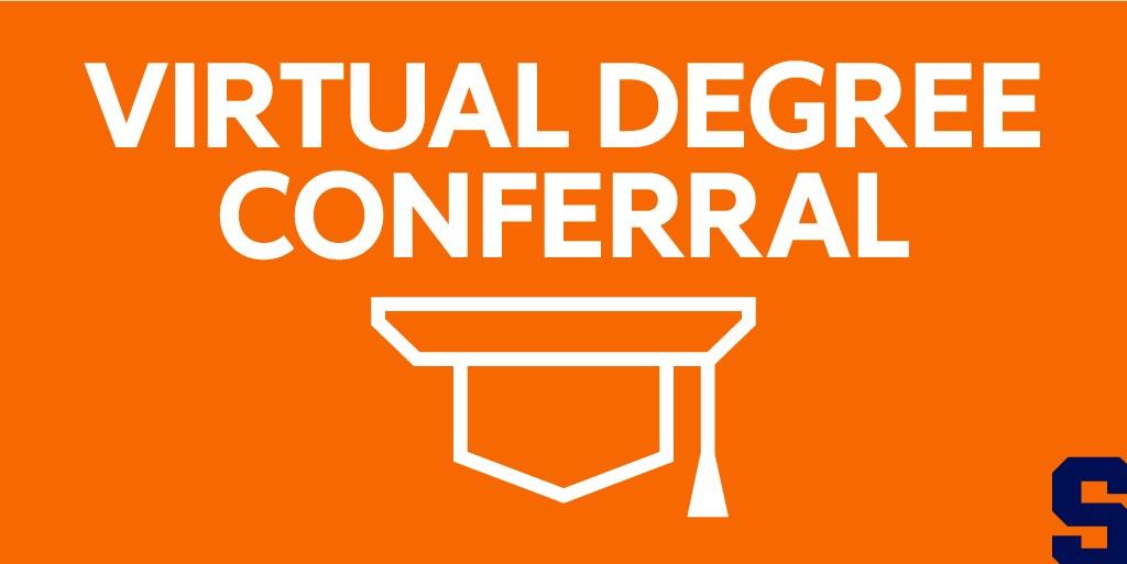 Virtual Degree Conferral graphic