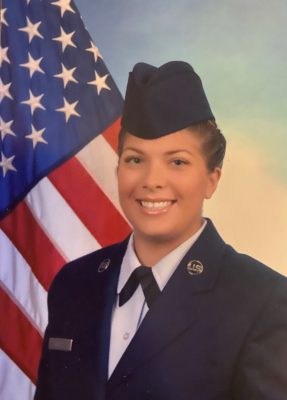 Laura Buy military portrait