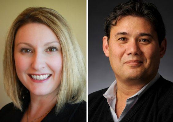 headshots of assistant professor Regina Luttrell and professor Stephen Masiclat