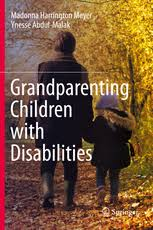 "book cover ""Grandparenting Children with Disabilities"""