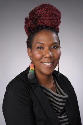 portrait of assistant professor of political science Jenn M. Jackson