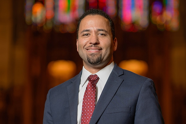 Headshot of Luke Powery, dean of Duke University Chapel