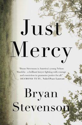 """Book cover of """"Just Mercy"""" by Bryan Stevenson"""