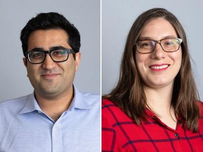 Davoud Mozhdehi and Rachel Steinhart