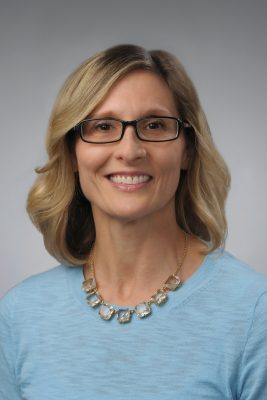 headshot of Gail Grozalis, executive director of health and wellness in the Office of Human Resources